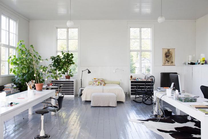 Голубая мечта: дом шведской художницы Гуннель Салин (фото 5)