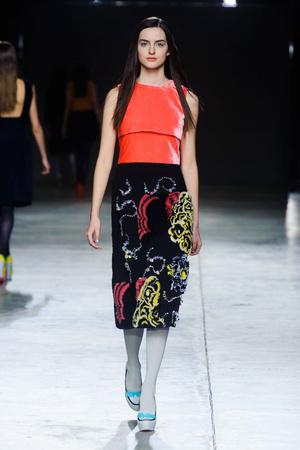 Показы мод Michael van der Ham Осень-зима 2014-2015 | Подиум на ELLE - Подиум - фото 3904