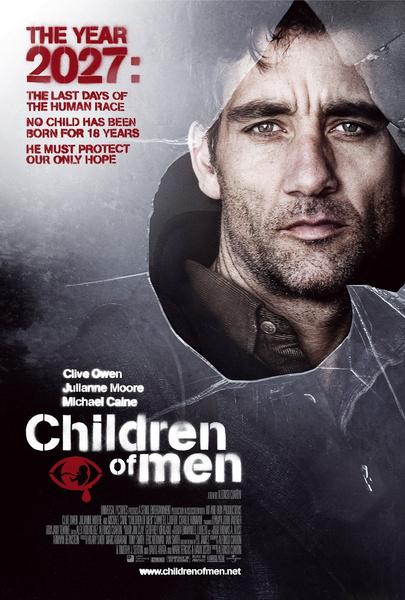 №1 «Дитя человеческое» (Children of Men), 2006 антиутопии