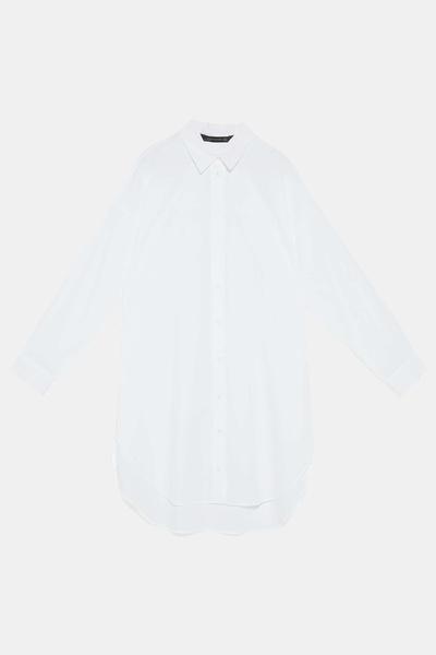 5 способов носить белую рубашку-оверсайз (галерея 12, фото 0)