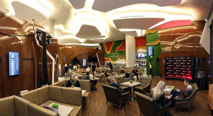 бизнес-лаунж MasterCard в Шереметево
