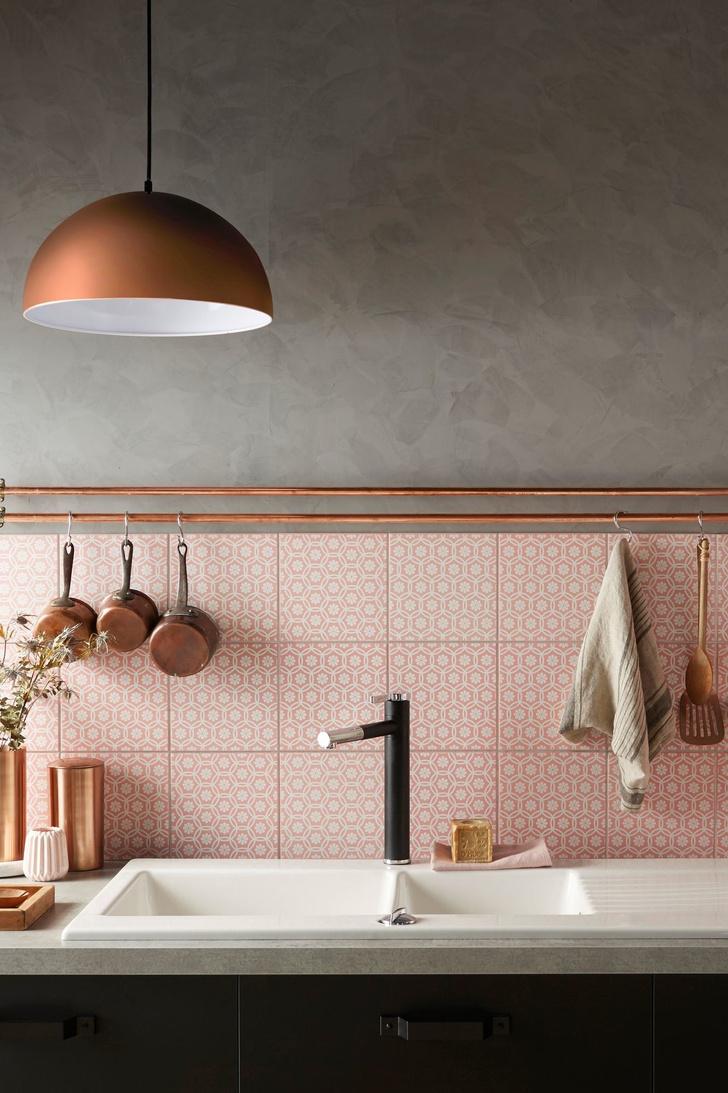 Розовый цвет в интерьере: как использовать и с чем сочетать (фото 15)