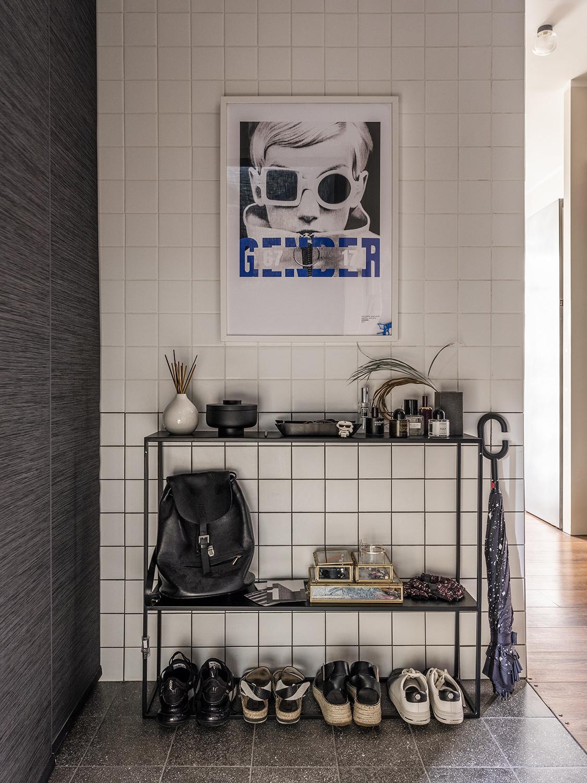 Квадратная белая плитка в интерьере: 20+ примеров (галерея 0, фото 1)