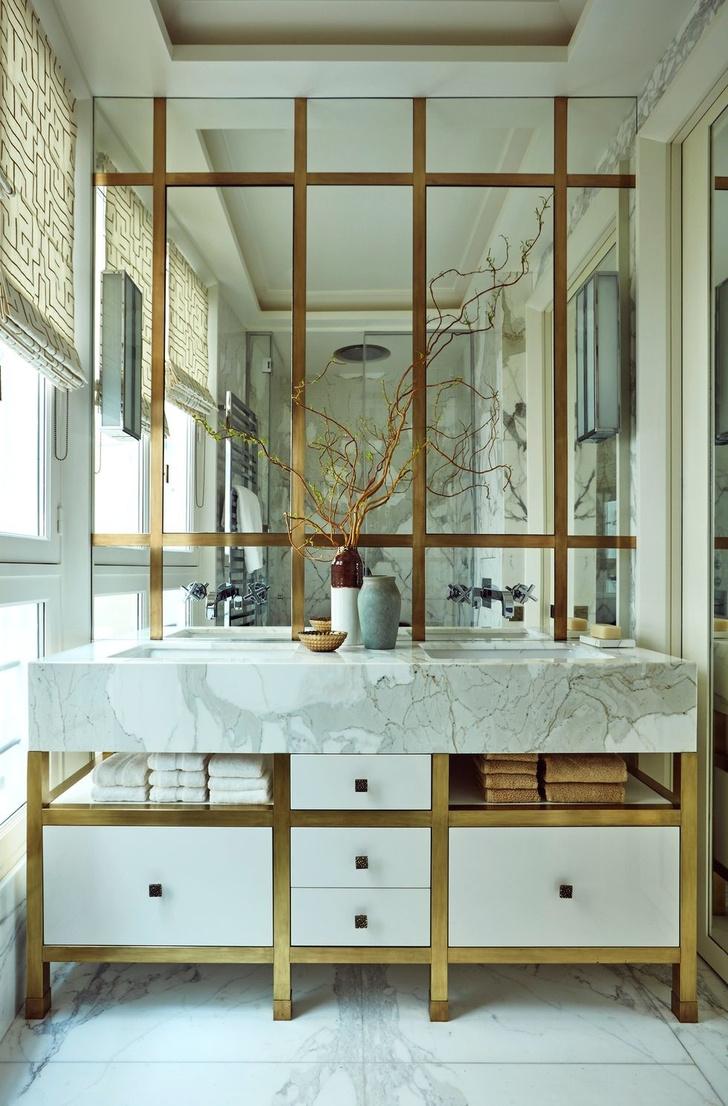 Зеркало в ванной: 20 ярких идей (галерея 1, фото 18)