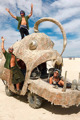 Буря в пустыне: Эдгардо Озорио — о том, как выжить на фестивале Burning Man фото [10]