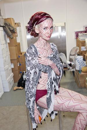 Показ Maurizio Galante коллекции сезона Весна-лето 2011 года haute couture - www.elle.ru - Подиум - фото 216694