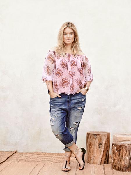 Mango представил новую коллекцию одежды для девушек с формами | галерея [1] фото [12]