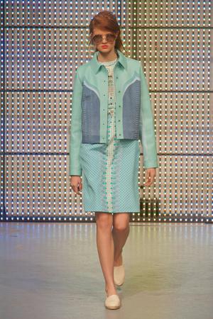 Показ Holly Fulton коллекции сезона Весна-лето 2013 года prêt-à-porter - www.elle.ru - Подиум - фото 427260