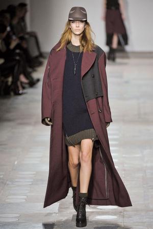 Показы мод Unique Осень-зима 2012-2013 | Подиум на ELLE - Подиум - фото 1573