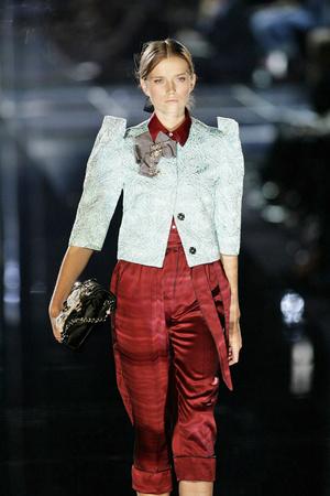 Показ Dolce & Gabbana коллекции сезона Весна-лето 2009 года prêt-à-porter - www.elle.ru - Подиум - фото 81404