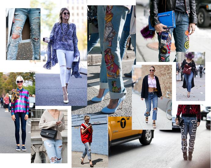 Модные джинсы весна лето 2015 фото 1