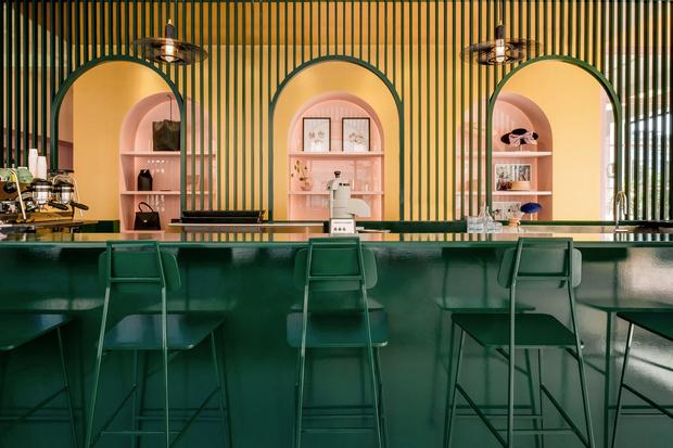 Яркий проект Pastel Rita в Монреале от студии Appareil Architecture (фото 0)