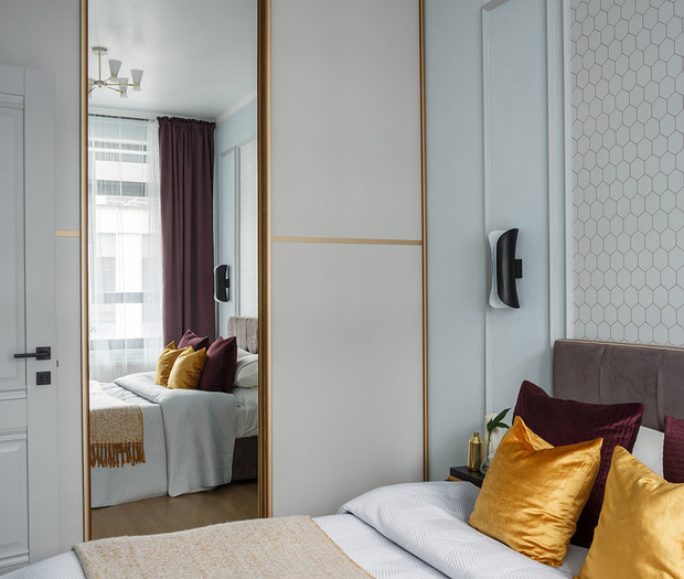 Квартира 46 м²: проект Ольги Луис (фото 23)