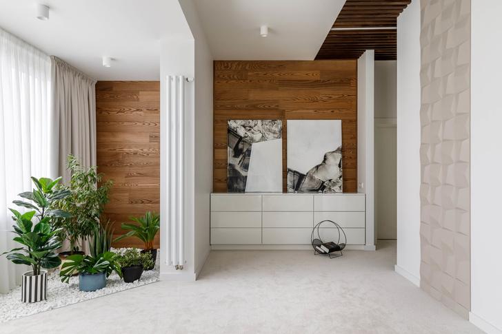Геометрия и минимализм: квартира 210 м² в Москве (фото 11)