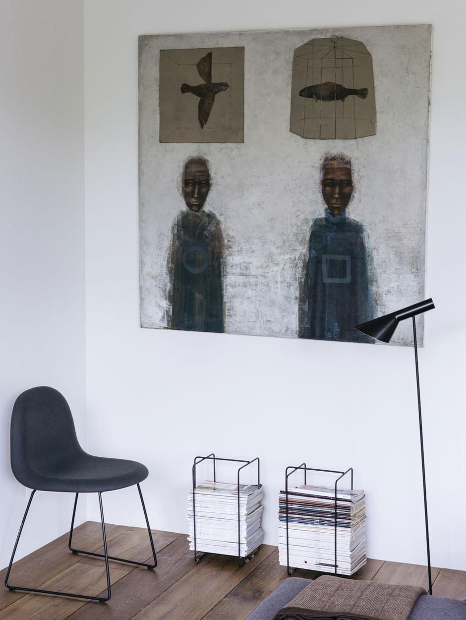 Картины без рам в интерьере: 10 примеров (галерея 0, фото 2)