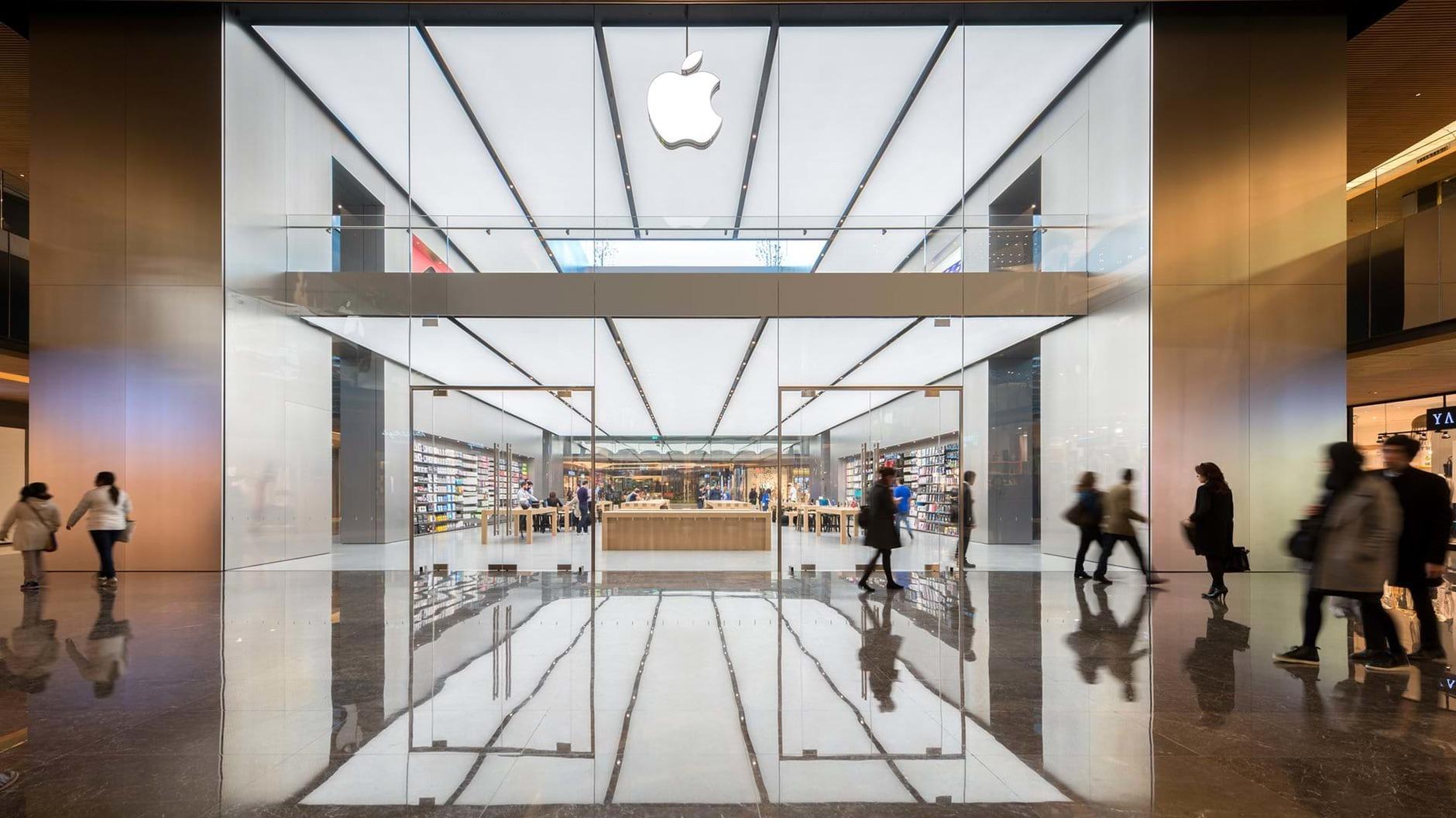 10 самых эффектных бутиков Apple (галерея 3, фото 0)