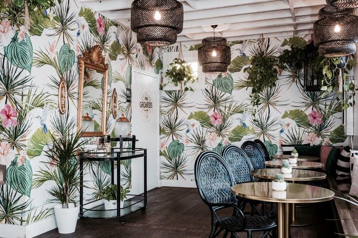 Тропическое кафе в Калифорнии (фото 1)