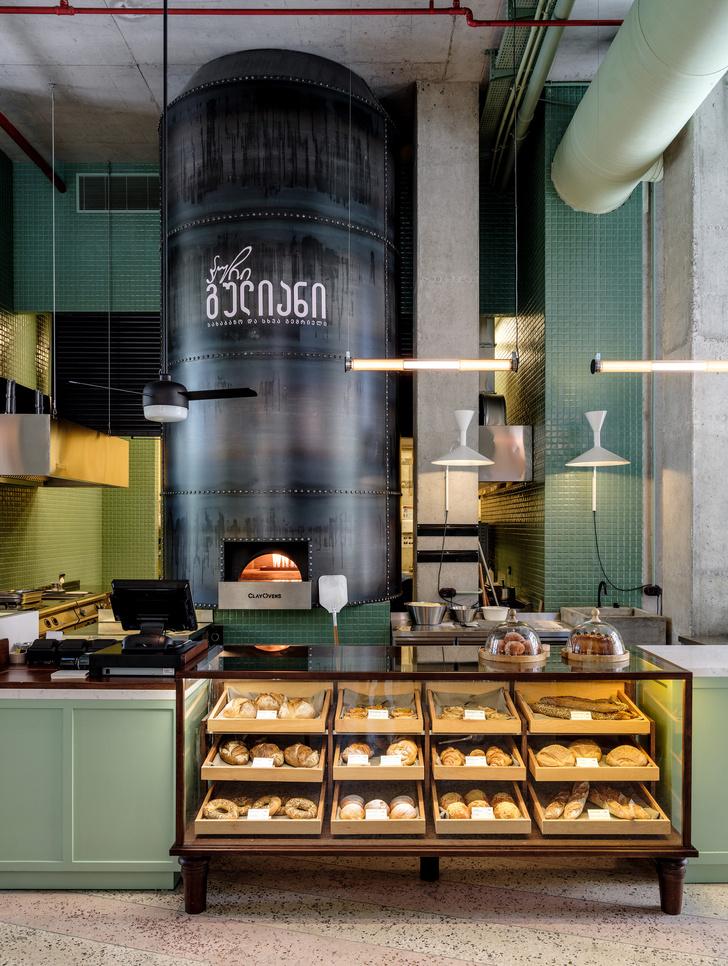 Атмосферная пекарня Puri Guliani в Тбилиси (фото 3)