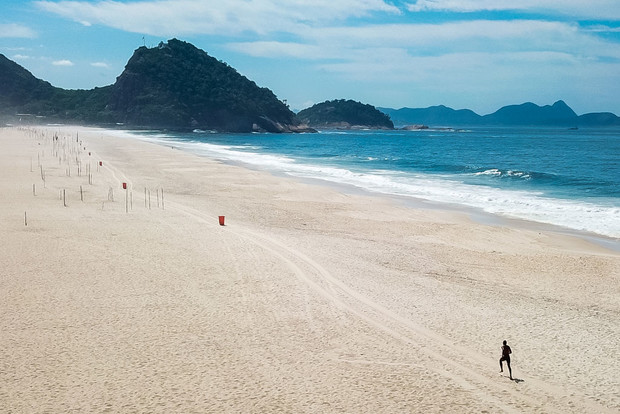 Как выглядит опустевший Рио-де-Жанейро (фото 5)