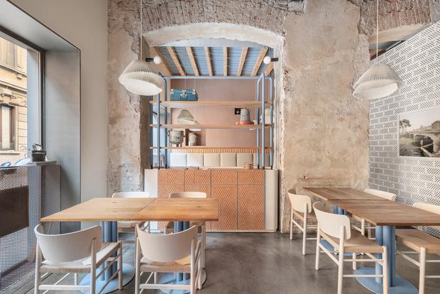 Обновленное бистро 28 Posti в Милане: проект Кристины Челестино (фото 0)
