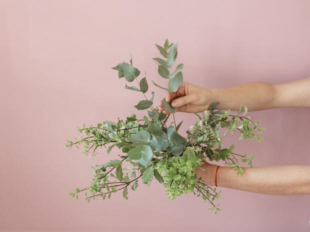 Мастер-класс: осенний букет из диких цветов (фото 7)