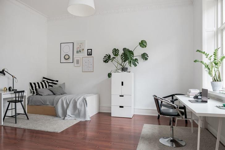Образцовая скандинавская квартира 140 м² (фото 11)