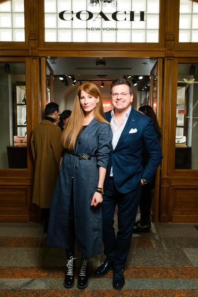Вечеринка в стиле Studio 54 по поводу открытия бутика Coach в ГУМе (галерея 6, фото 13)