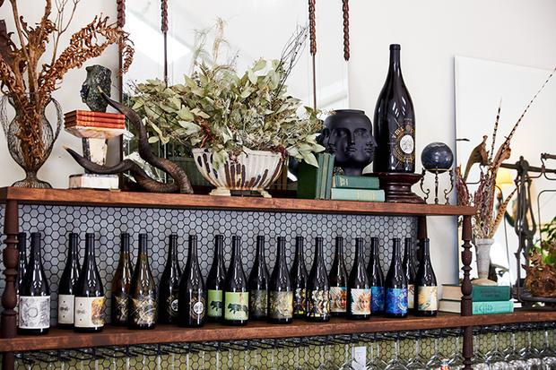 Бар при винодельне в Северной Калифорнии (фото 6)