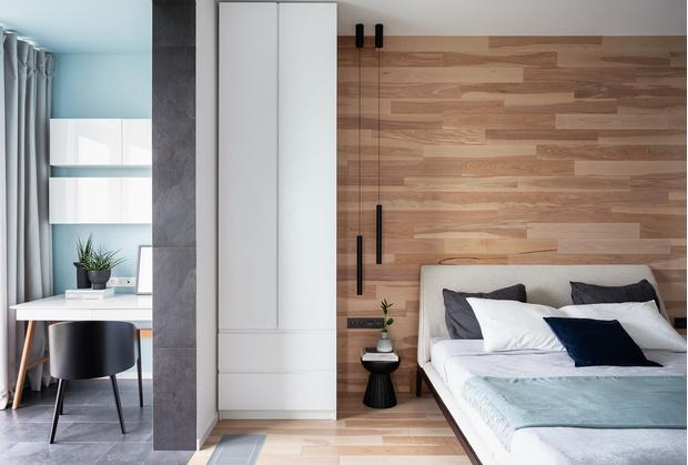 Минималистичная квартира 54 м² в Химках (фото 3)