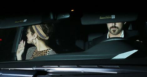 Снова вместе: Райан Голсинг и Ева Мендес вместе вышли в свет   галерея [1] фото [5]