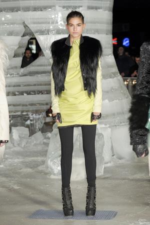Показ Elise Overland коллекции сезона Осень-зима 2011-2012 года prêt-à-porter - www.elle.ru - Подиум - фото 226781