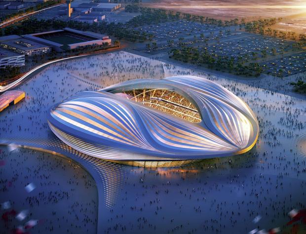 Футбольный стадион 2022, Катар