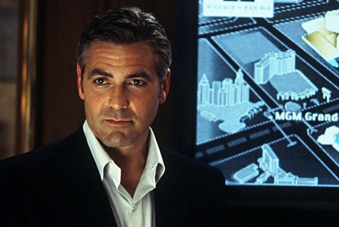 «Одиннадцать друзей Оушена» (Ocean's Eleven), 2001 Джордж Клуни