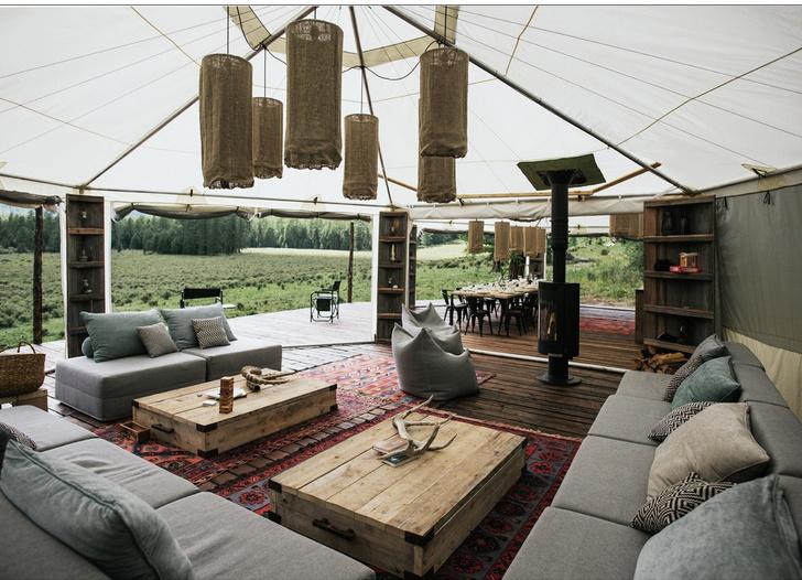 Новый романтизм: палаточный отель «Лес и Море» в Калязине и на Алтае (фото 8)