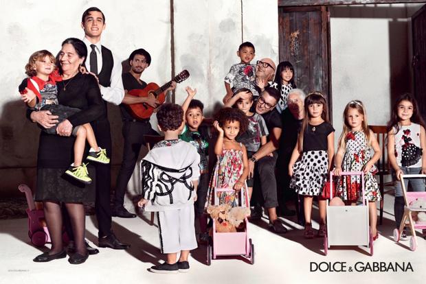 Dolce & Gabbana представили новую детскую рекламную кампанию