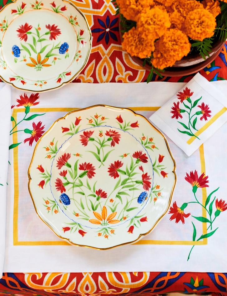 Первая коллекция посуды от Carolina Herrera x Cabana (фото 0)