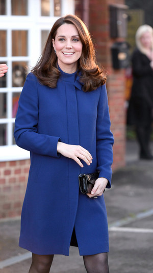 Новый образ беременной Кейт Миддлтон (фото 2)