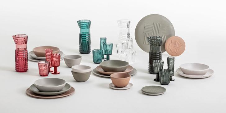 Коллекция посуды Trama от Патрисии Уркиолы (фото 2)