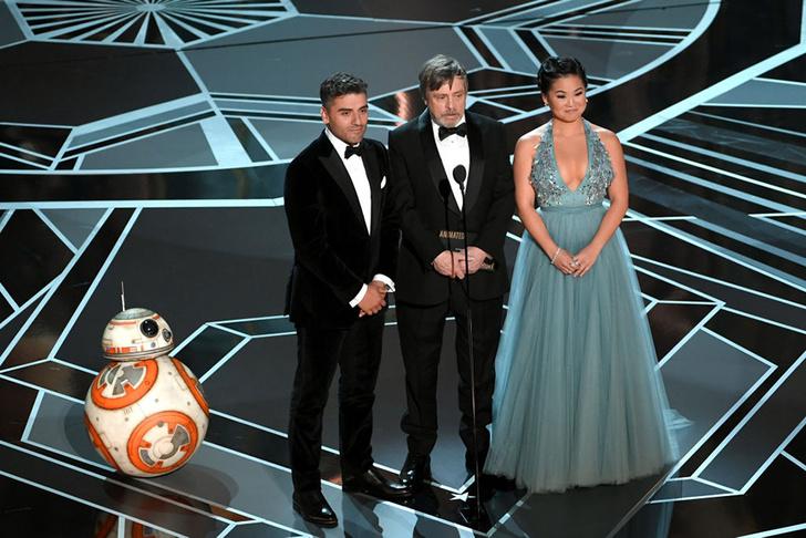 Роботы, скутеры, еда: главные моменты «Оскара» (фото 1)
