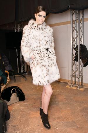 Показ Simonetta Ravizza коллекции сезона Осень-зима 2013-2014 года Prêt-à-porter - www.elle.ru - Подиум - фото 513623