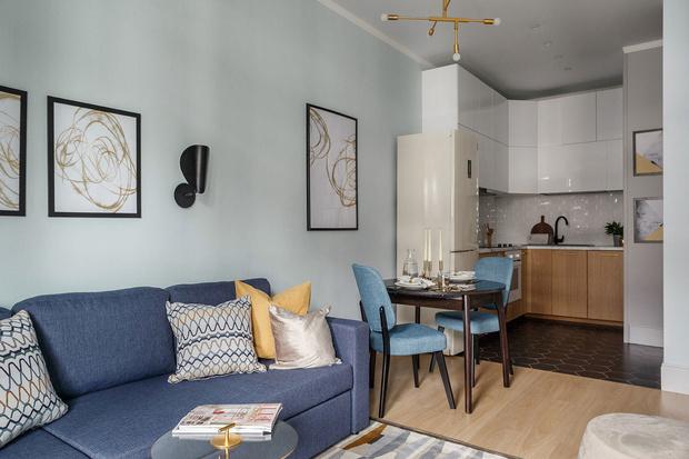 Квартира 46 м²: проект Ольги Луис (фото 17)