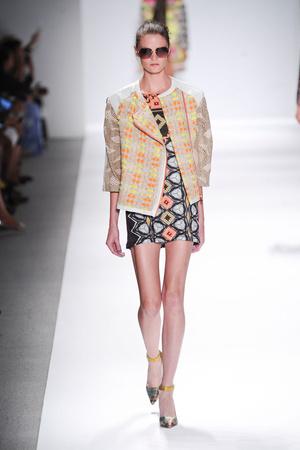 Показы мод Custo Barcelona Весна-лето 2014 | Подиум на ELLE - Подиум - фото 3545