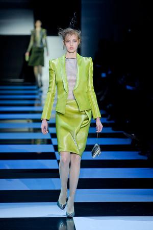 Показ Giorgio Armani Privé коллекции сезона Весна-лето 2012 года Haute couture - www.elle.ru - Подиум - фото 331477