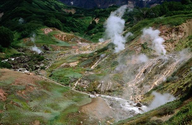 Долина гейзеров, Камчатка, Россия