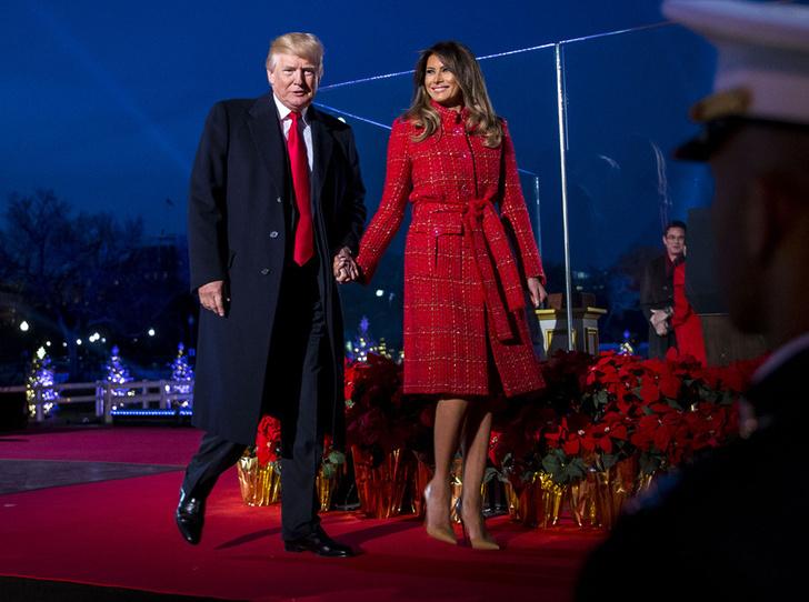 Мелания Трамп в Chanel фото