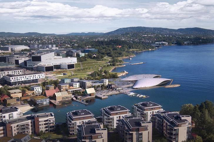 На месте бывшего аэропорта В Осло появится новый городской Аквариум фото [8]