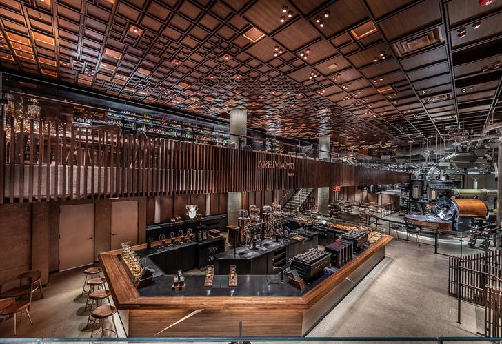 Starbucks в Нью-Йорке: кафе и обжарочный цех (фото 4)