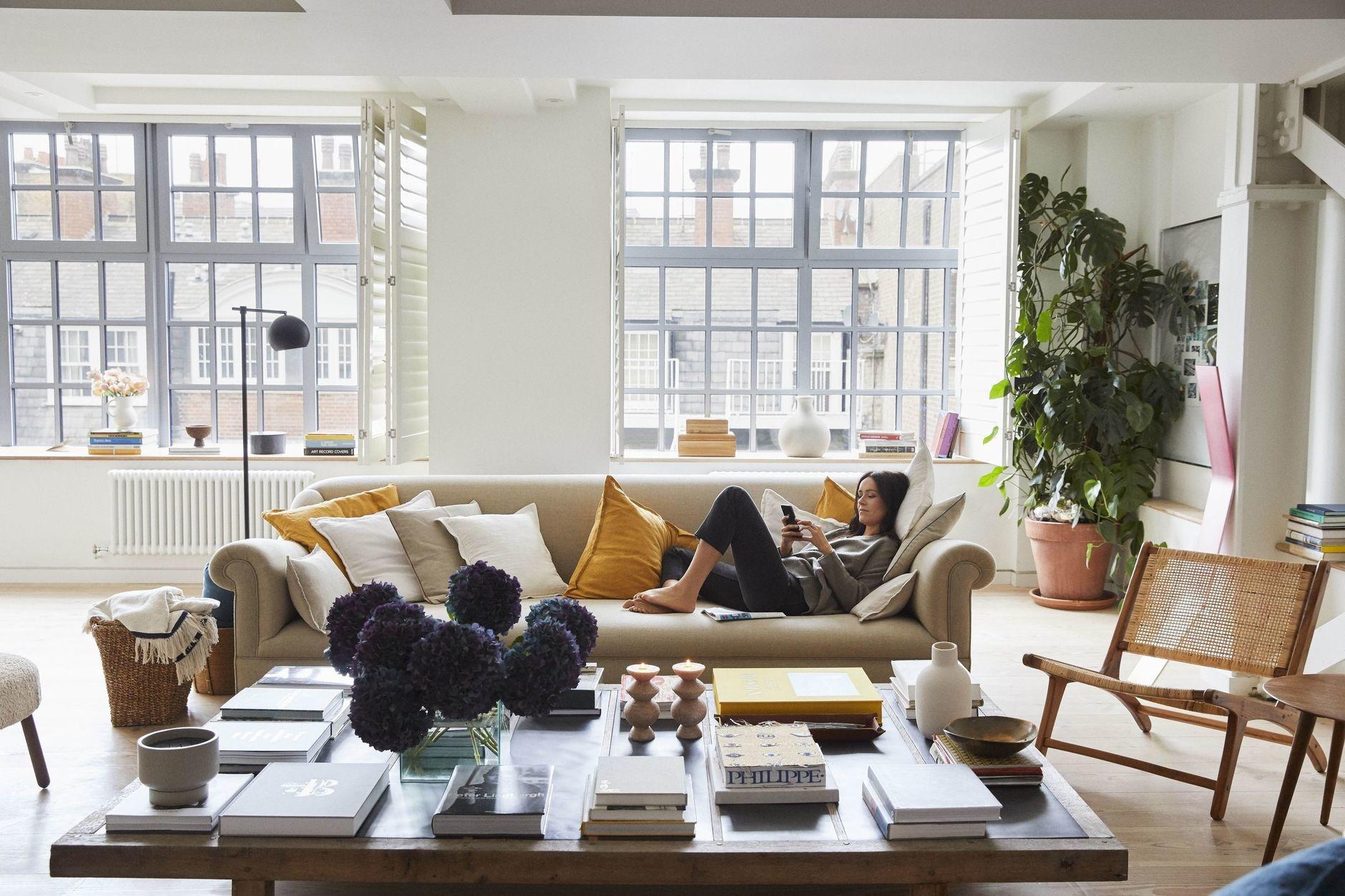 Мягкая группа в гостиной: 15+ примеров (галерея 0, фото 4)