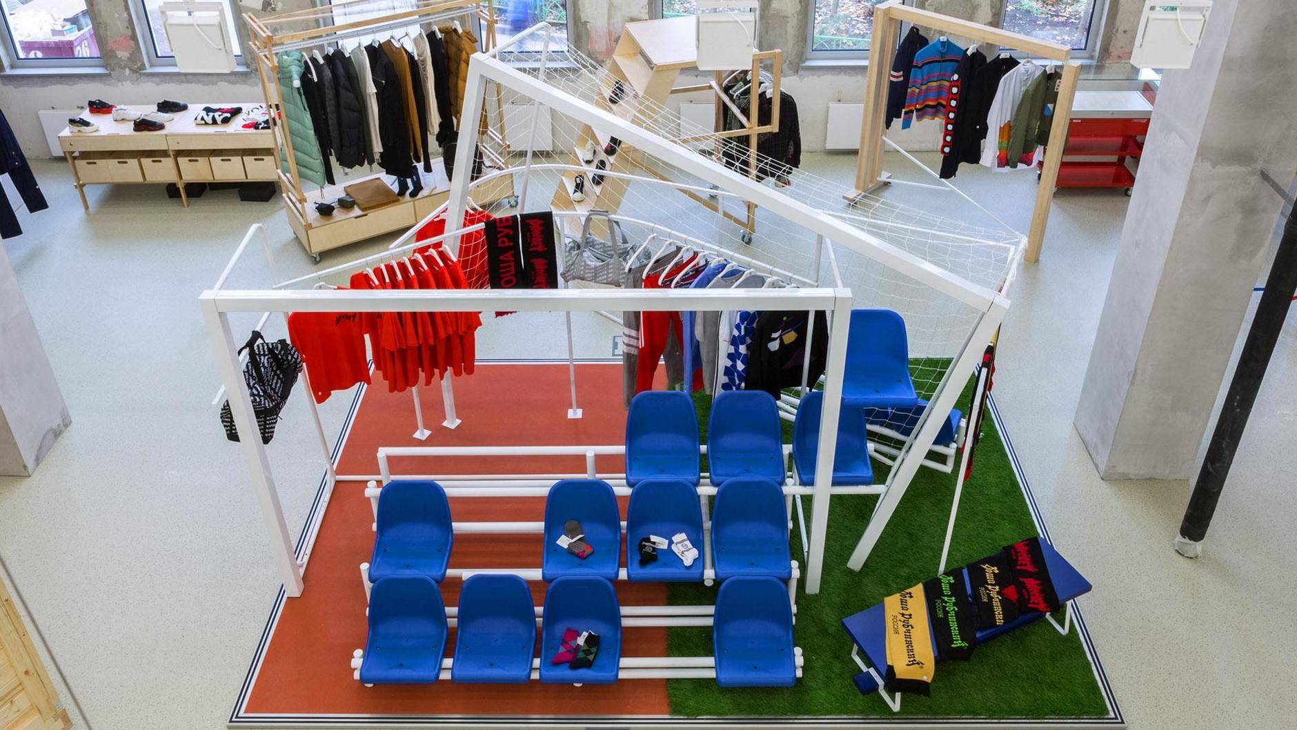 Как выглядят пространства успешных fashion-брендов (галерея 1, фото 1)