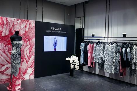 коктейль из моды и искусства: escada представила капсульную коллекцию | галерея [1] фото [1]